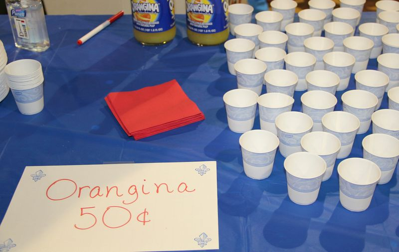 France Booth - Orangina