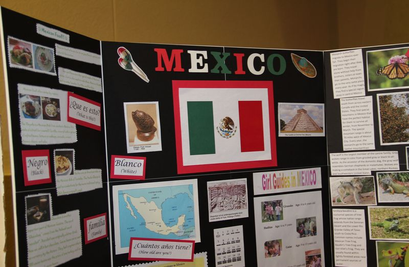 Mexico Booth Tri-Fold Display