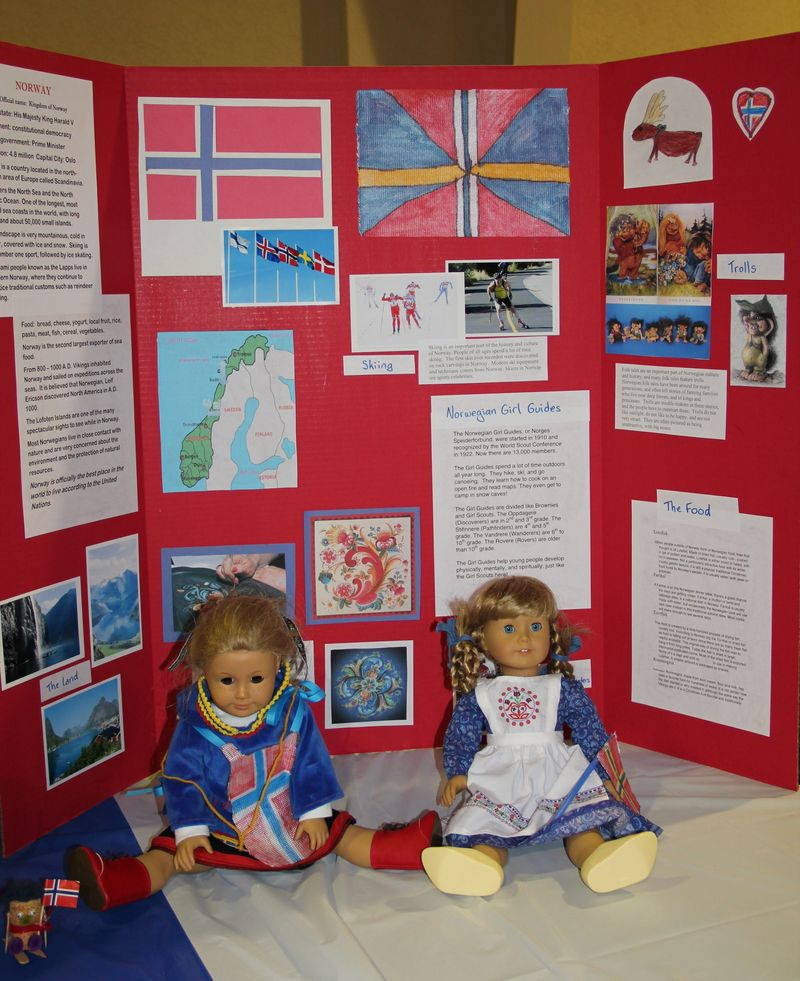 Norway Booth Tri-Fold Display